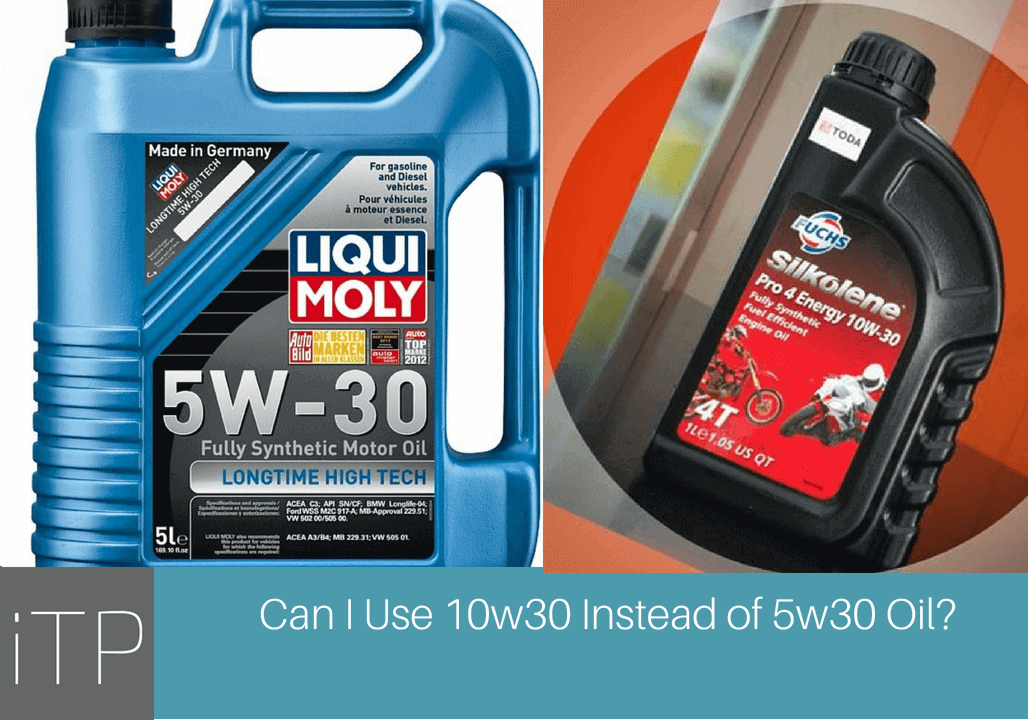 5w30 Vs 10w30 >> Can I Use 10w30 Instead Of 5w30 Oil Enjoydriv Com