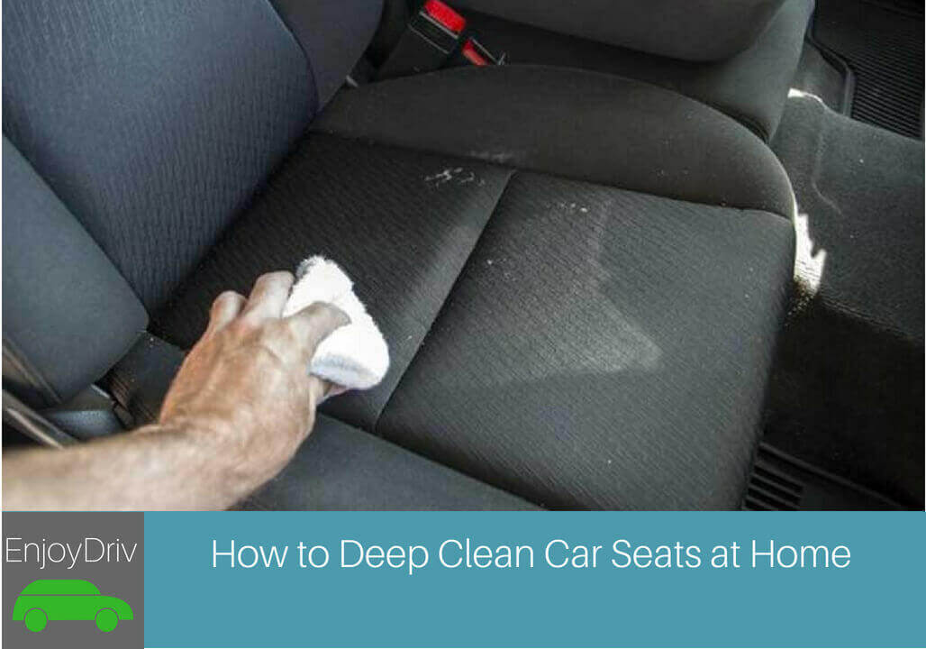Enjoy driving How to Get Water Stains Out of Cloth Car Seats