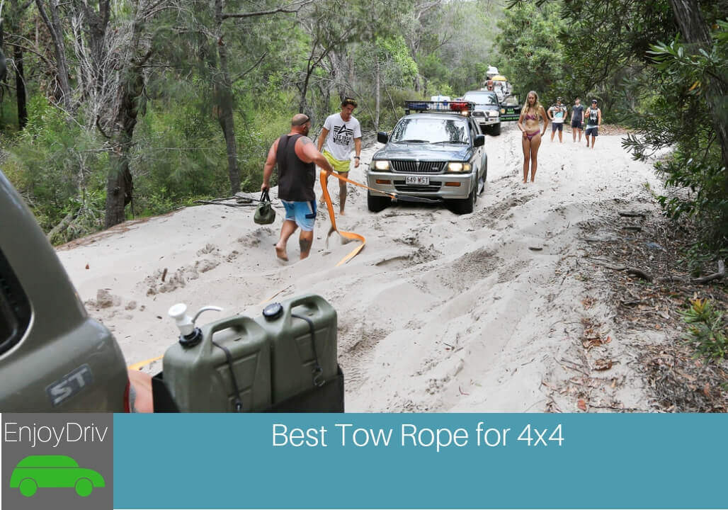 Enjoydriving Best Tow Rope for 4x4