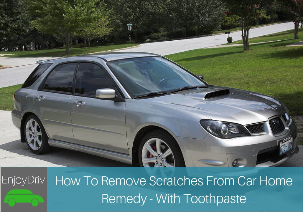 How To Remove Scratches From Car Home Remedy - With